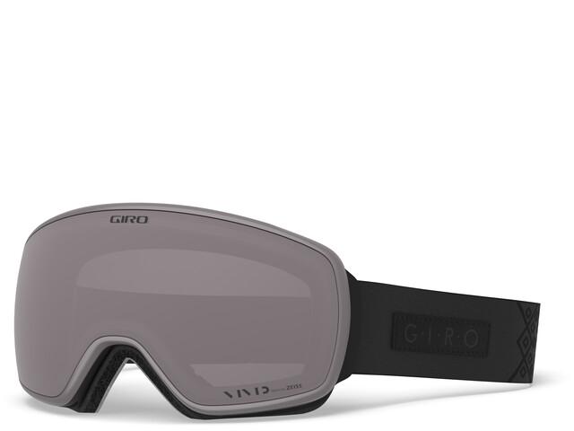 Giro Eave Uimalasit Naiset, black velvet/vivid onyx/vivid infrared